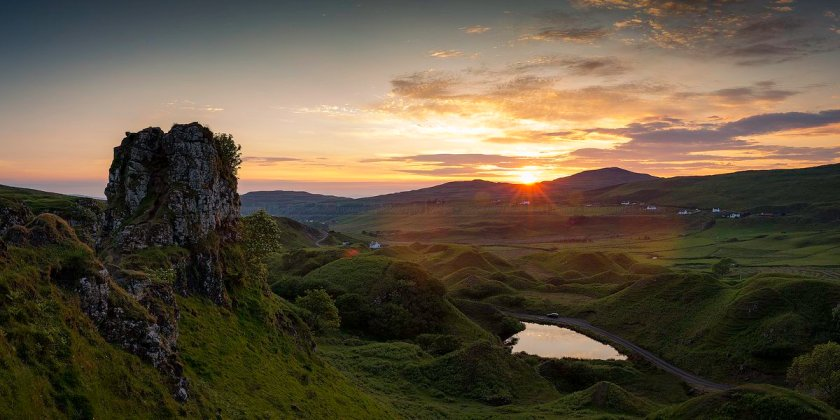 Fairy Glen on Skye